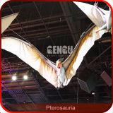 Animatronic die Robotachtige Dinosaurus Pterosauria vliegen