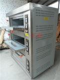 3 couches et fours de paquet de porte d'acier inoxydable de gaz de 6 plateaux (ZBB-306M)