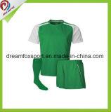 Camisa por encargo del fútbol de Jersey de la venta del fútbol barato caliente de la sublimación