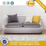 La Europa moderna metálica de acero Diseño sofá de cuero de la Oficina de espera (NS-D6316)