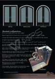 卸売は工場によって作られる鋼鉄ドアを指示する