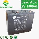 grande batterie profonde de cycle du pouvoir AGM de 2V 1000ah