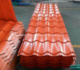 Prepainted電流を通された屋根瓦艶をかけられたPPGI/PPGLの屋根シート