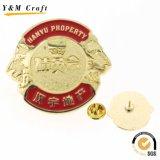 Insigne personnalisé en métal de forme ronde (Q0018)
