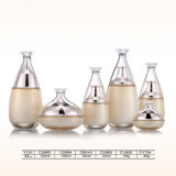 Frasco de vidro desobstruído cosmético do conta-gotas do perfume da alta qualidade com o pulverizador e a bomba finos da névoa