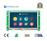 Intense luminosité, 4.3 TFT LCD Module+RS232 de pouce 480*272 Uart