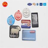 El control de acceso clave etiquetas NFC con láser de la marca (SL1960)