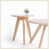 يعيش غرفة أريكة جانب [كفّ تبل] طاولة صلبة خشبيّة