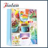 Custom barato vacaciones Bithday laminado brillante papel impreso de la bolsa de caramelos