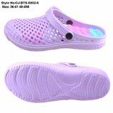 Стиль для женщин летом обувь, новые EVA Holey Дышащий прижимающих зажимов