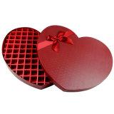 심혼 모양 활을%s 가진 공상 초콜렛 선물 수송용 포장 상자