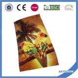 Custom реактивная печать на пляже полотенце качества на заводе оптовая торговля