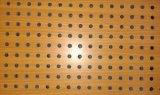 painel 600X1200 acústico de madeira com perfuração de 3mm ou de 6mm