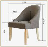 Singolo sofà del tessuto nordico semplice moderno
