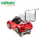 Het nieuwe het Winkelen van Jonge geitjes Boodschappenwagentje van de Kinderen van het Karretje met de Auto van het Stuk speelgoed