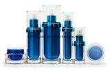 Bouteille crème cosmétique acrylique avec la pompe de lotion