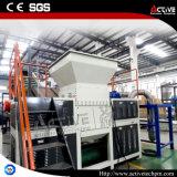 Máquina plástica de la desfibradora del eje doble para la venta