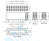 Connecteur de la compétitivité des prix de 2,54 Terminal Pitch-U H: 8.5mm embase femelle CMS