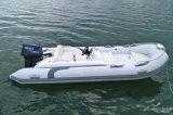 Liya 14 Fuß Fiberglas-steife aufblasbare Fischerboot-Freizeit-Rippen-