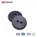 織物のための30mm RFID Hfの洗濯の札