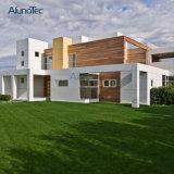 Le revêtement en aluminium couvre le panneau de décoration de construction