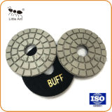 """3 """" Tampon de polissage de diamant humide pour le Granite Buff Type"""