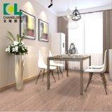 Les applications résidentielles et commerciales en PVC, revêtement de sol en bois de luxe ISO9001 Changlong Clw-15