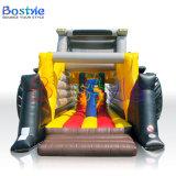 De Opblaasbare Uitsmijter van het Huis van de Sprong van de Tractor van het Kasteel van Bouncy van jonge geitjes