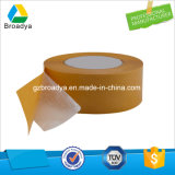 Двойная белая бумага с покрытием 90mic Пэт полиэстер клейкой ленты (DPS09)