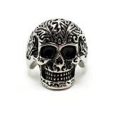 De punk Ring van het Roestvrij staal van de Mens van de Juwelen van de Manier