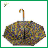 Parapluie de golf de contrat de parasol de pluie de Sun de peinture à l'huile 2017