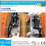 중국 20L 25L 플라스틱 병 자동 귀환 제어 장치 모터 중공 성형 기계