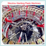 Seis Aeroporto saco de tecido PP plástico fazendo circular tear tecelagem
