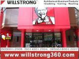 Willstrong Acm para Pizza recordações Kfc restaurante decoração de fachadas