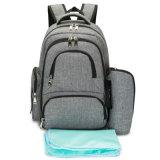 Zaino all'ingrosso del sacchetto del pannolino della mamma con le clip cambianti del passeggiatore & del rilievo