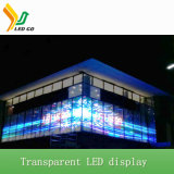 Afficheur LED transparent polychrome du WiFi 4G de la Chine