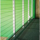 Pasamano alto durable de Rod de alambre del cable del S.S304/316 para el balcón