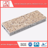 Le granit haute rigidité de placage de pierre d'aluminium anticorrosion Honeycomb Panneaux pour Hall Wall/ mur de fond/ Mur de l'élévateur