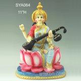 Het Indische Hindoese Standbeeld van Durga Devi Vaishno Polyresin van de Godin