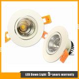 3-Jähriger Garantie 15W vertiefter PFEILER LED Downlight/Scheinwerfer/Deckenleuchte