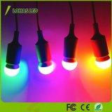 Ampoule équivalente chaude de jaune/bleue/vert/feu rouge DEL de G14 E26 25W (3W) pour décoratif