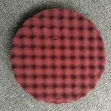 플라스틱 후면 플레이트를 가진 닦는 갯솜 패드
