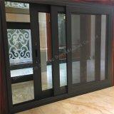 Aluminiumlegierung-Profil-Metallschiebendes Fenster mit doppeltem Glas