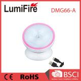 360 Grad des Umdrehungs-nachladbare Bewegungs-Fühler-LED Licht-für Baby