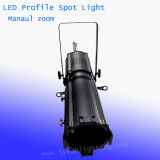 200W 급상승 LED 극장 Leko 가벼운 단면도 반점 빛