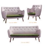 Amerikanische Art-Möbel-Chesterfield-Schnittgewebe-Sofa
