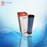 El filtro de aire para el excavador
