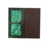 Módulo impermeável ao ar livre do indicador de diodo emissor de luz da cor vermelha de Hub12 P10