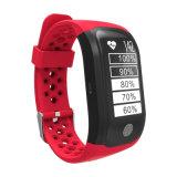 ダイナミックな心拍数のモニタGPSのスポーツスマートなバンド腕時計
