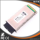 Customized 10G 1550nm 80km X2 módulos de fibra